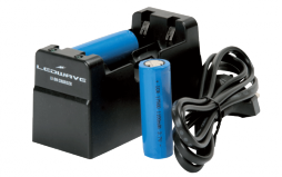 Charger for Rechargeable Lithium Batteries 17500 (Included)