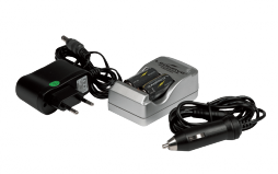 EU Charger for Rechargeable Lithium Batteries CR123A