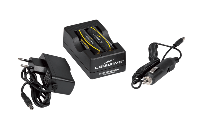 EU Charger for Rechargeable Lithium Batteries 18650