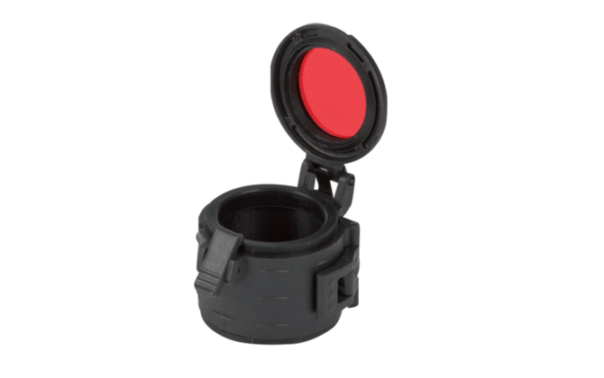 Filter Ø 33 mm (opening door) , military version with lock system Colour : Red
