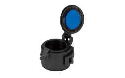 Filter Ø 33 mm (opening door) , military version with lock system Colour : Blue